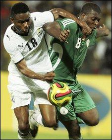 Yakubu Ayegbeni and Eric Addo
