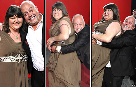 Cheryl Fergison and Cliff Parisi