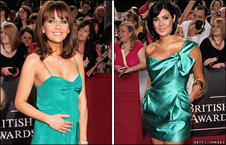 Samia Smith and Kym Marsh