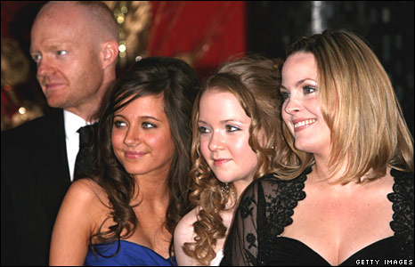 Jake Wood, Madeline Duggan, Lorna Fitzgerald and Jo Joyner