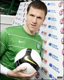 Celtic defender Gary Caldwell
