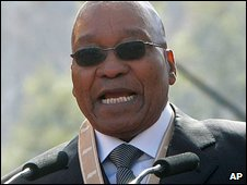 Jacob Zuma makes his inaugural  speech