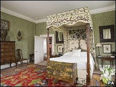 Bedroom in Ashdown House