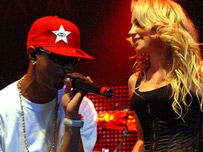 Fazer and Tulisa from N-Dubz