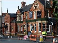 Robin Hood pub, Stretford