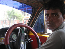 Taxi Driver, Prashanto Patra
