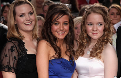 Jo Joyner, Madeline Duggan and Lorna Fitzgerald 