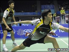 Chinese duo Cai Yun and Fu Haifeng beat Blair and Adcock