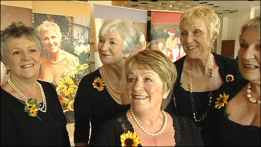 The Calendar Girls launch their new calendar