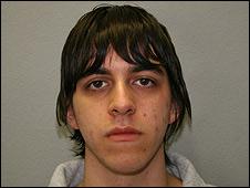 David Heiss after his arrest