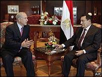 محادثات مبارك ونتنياهو في شرم الشيخ