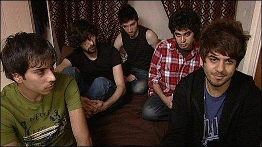 Iranian band, Font