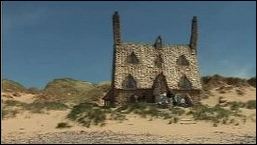 Shell Cottage at Freshwater West
