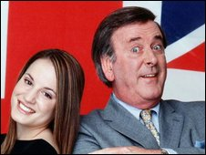 Jessica Garlick and Sir Terry Wogan