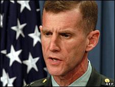 Gen Stanley McChrystal (File picture)