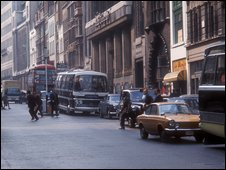 Fleet Street in the 1970s