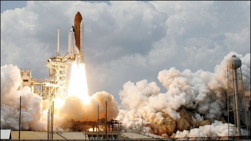 Shuttle launch (Getty images)