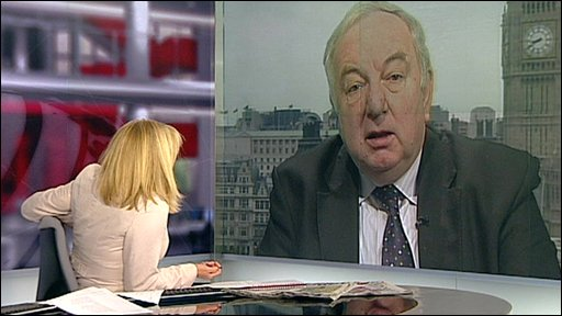 Lord Foulkes and Carrie Gracie