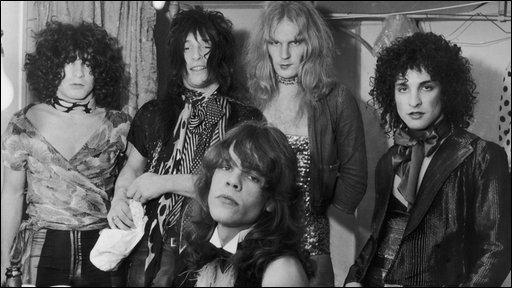 The New York Dolls in 1972