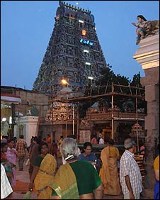 Temple in Tamil Nadu