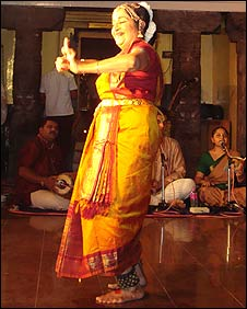 Tamil Nadu dancer