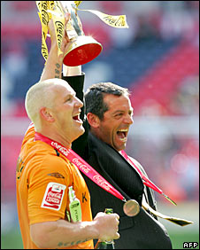 Dean Windass and Phil Brown
