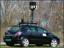 Street mapping car