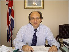 Chief Minister Peter Caruana