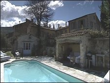 Ian's house in France