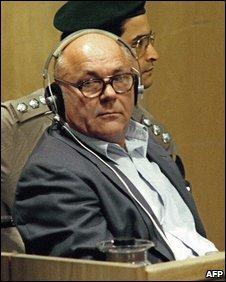 Demjanjuk in 1988 in an Israeli court