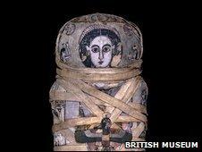 Mummy of Cleopatra