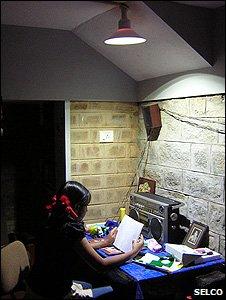 Girl studying (Image: Selco Solar)
