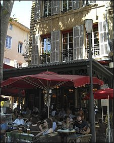 Cafe in Provence