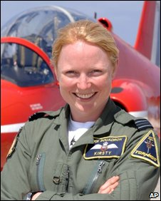 Flight Lieutenant Kirsty Moore