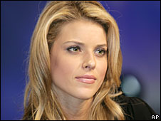 Carrie Prejean via the BBC website