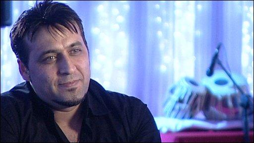 Afghan singer Hashmat