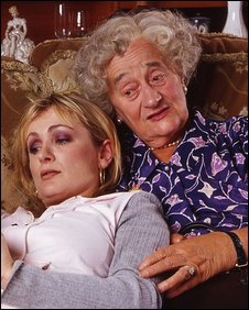 Denise and Nana from The Royle Family