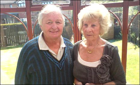Robert Wilson (L), Margaret Wilson(R) (Pic: Jamie McIvor)