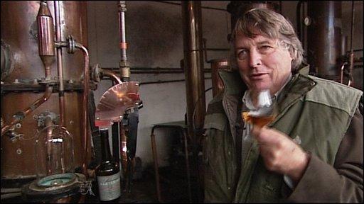 Cider brandy maker Julian Temperley
