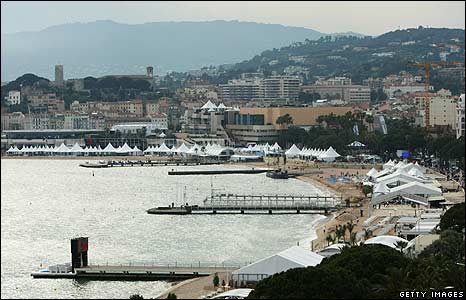 Cannes beachfront