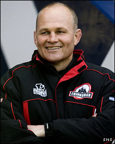 Edinburgh head coach Andy Robinson