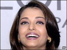 L'Oreal model Aishwarya Rai