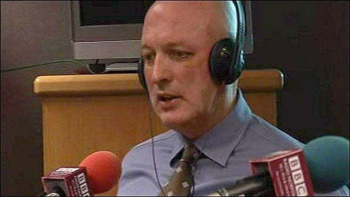 Bryan Gunn at BBC Radio Norfolk