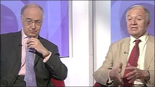 Michael Howard and Ken Livingstone