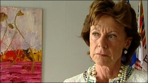 Competition Commissioner Neelie Kroes