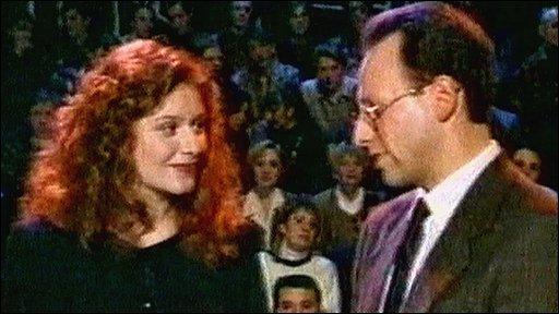 Steven Rosenberg with Maria Katz