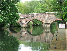 The River Wensum in Norwich