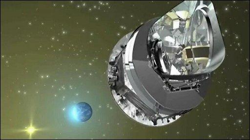 Artist's impression of Herschel telescope