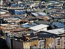Alexandra township in Johannesburg
