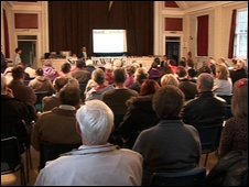 The Save the Bath Road Reservoir Group meeting on Wednesday night